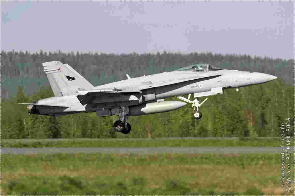 tofcomp#10991 F-18 de la Force aérienne finlandaise au décollage à Kuopio (FIN) en 2018