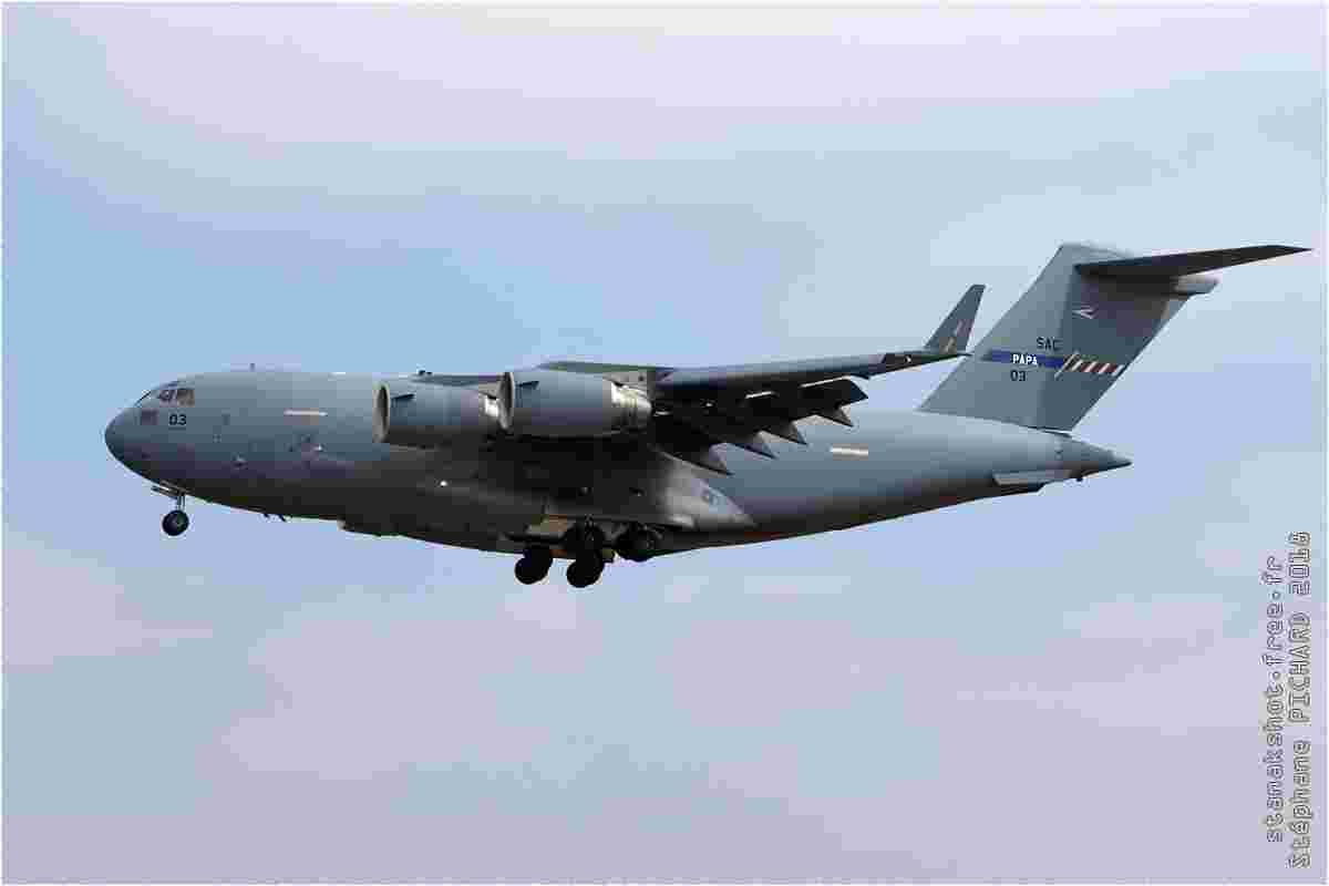 tofcomp#11143 C-17 de la Force aérienne hongroise à l'atterrissage à Fairford (GBR) lors du RIAT 2018