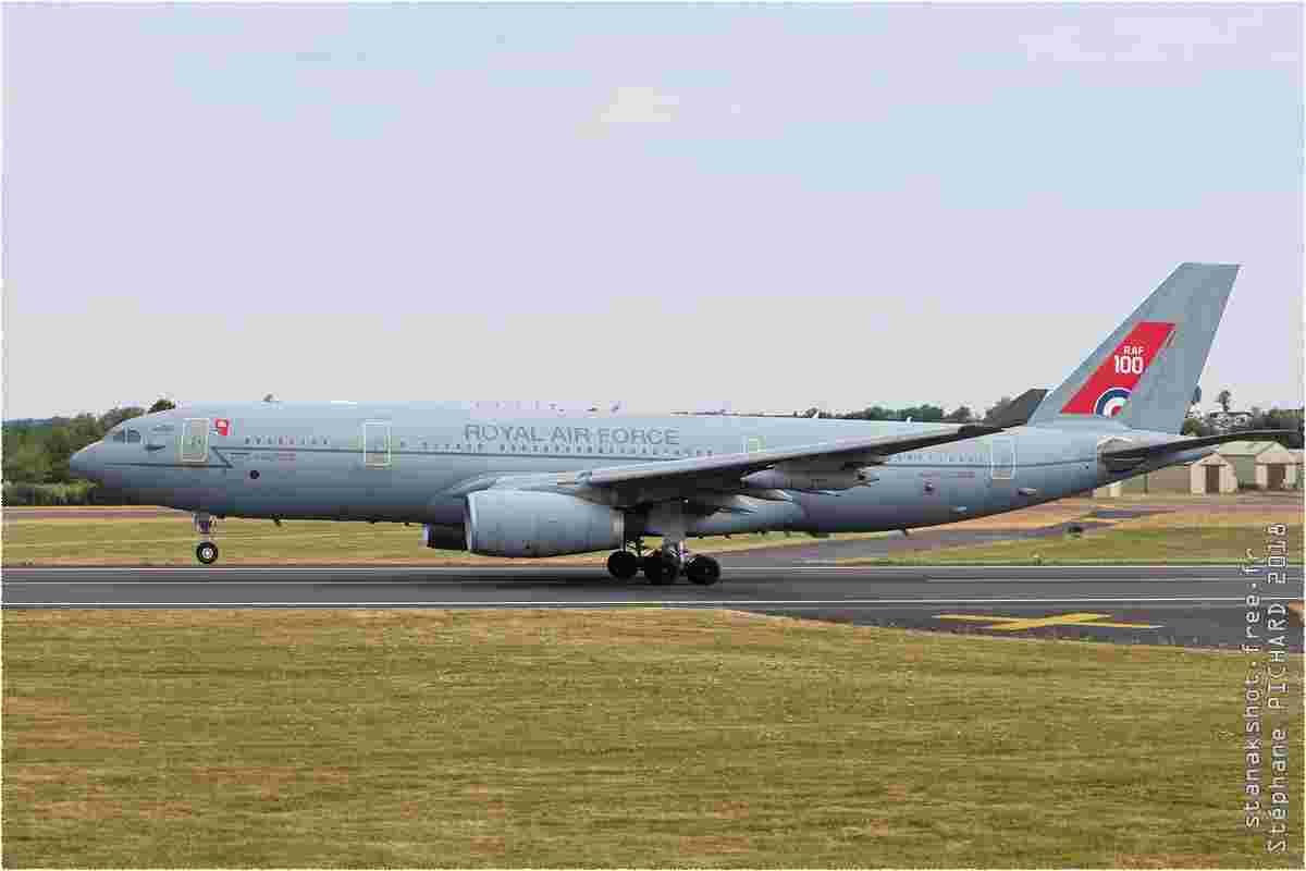 tofcomp#11224 A330 de la Force aérienne royale britannique au décollage à Fairford (GBR) lors du RIAT 2018