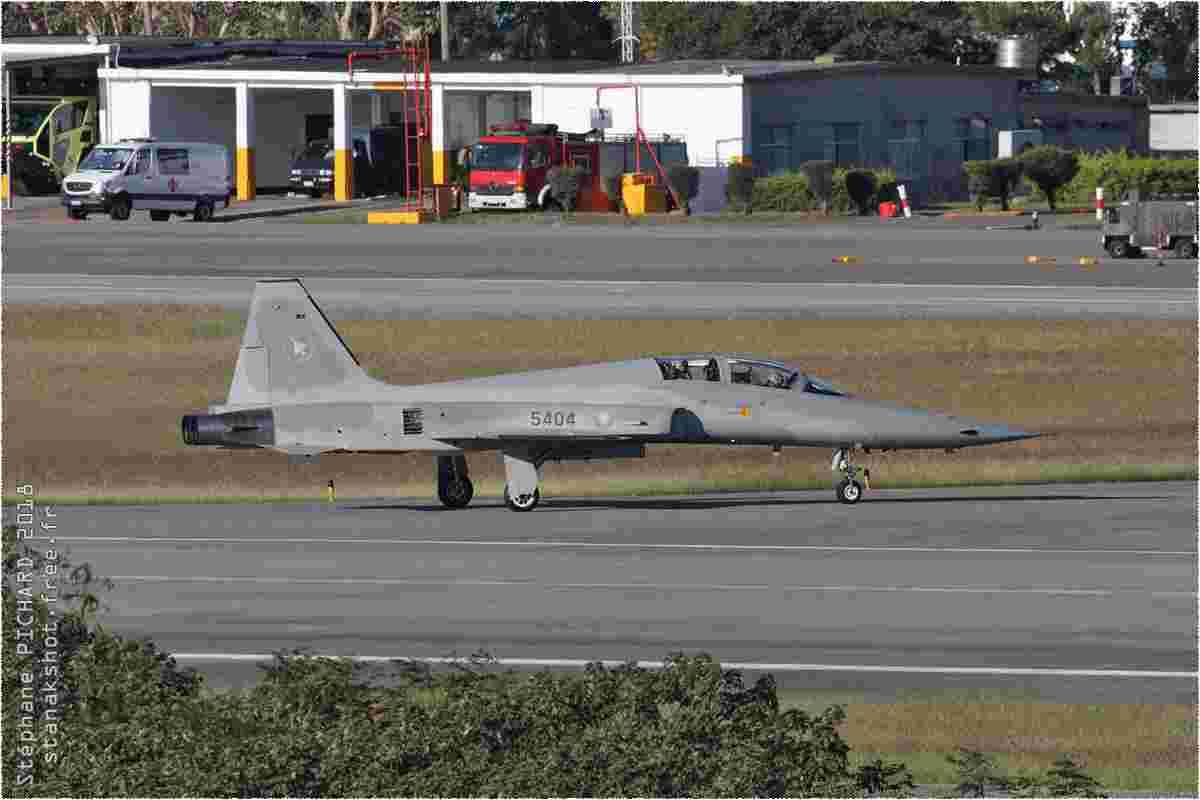 tofcomp#11287 F-5 de la Force aérienne de la République de Chine au roulage à Taitung (TWN) en 2018