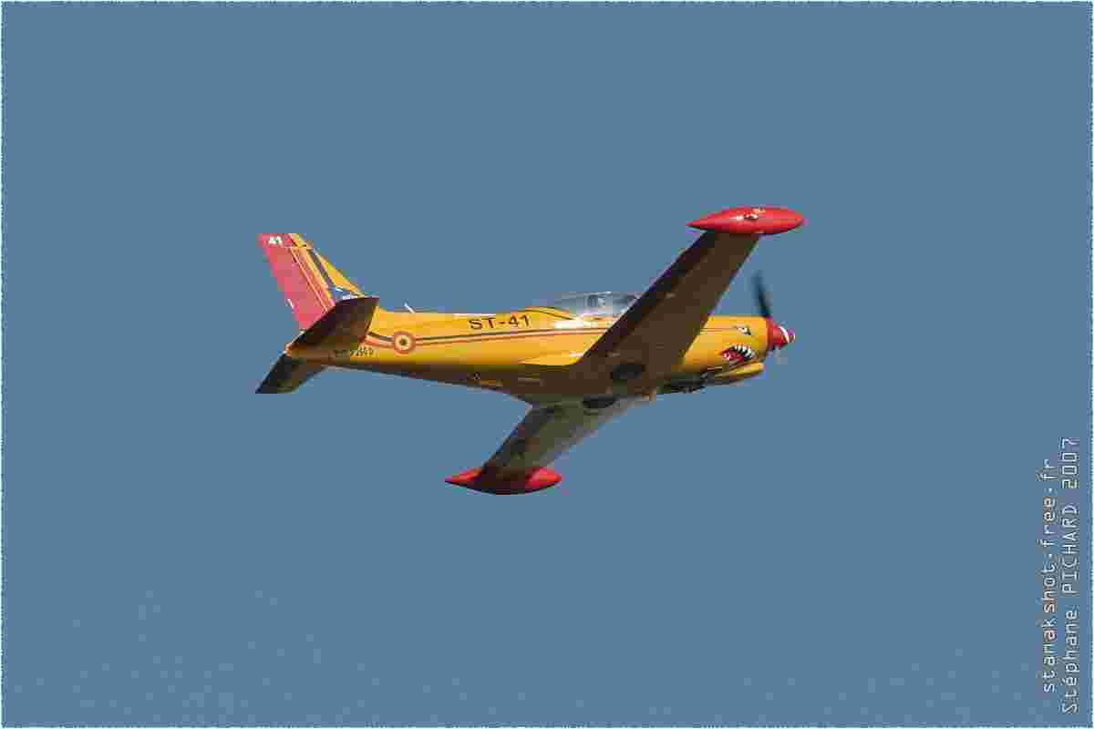 tofcomp#2126 SF.260 de la Force aérienne belge au décollage à Florennes (BEL) lors du TLP 2007-2