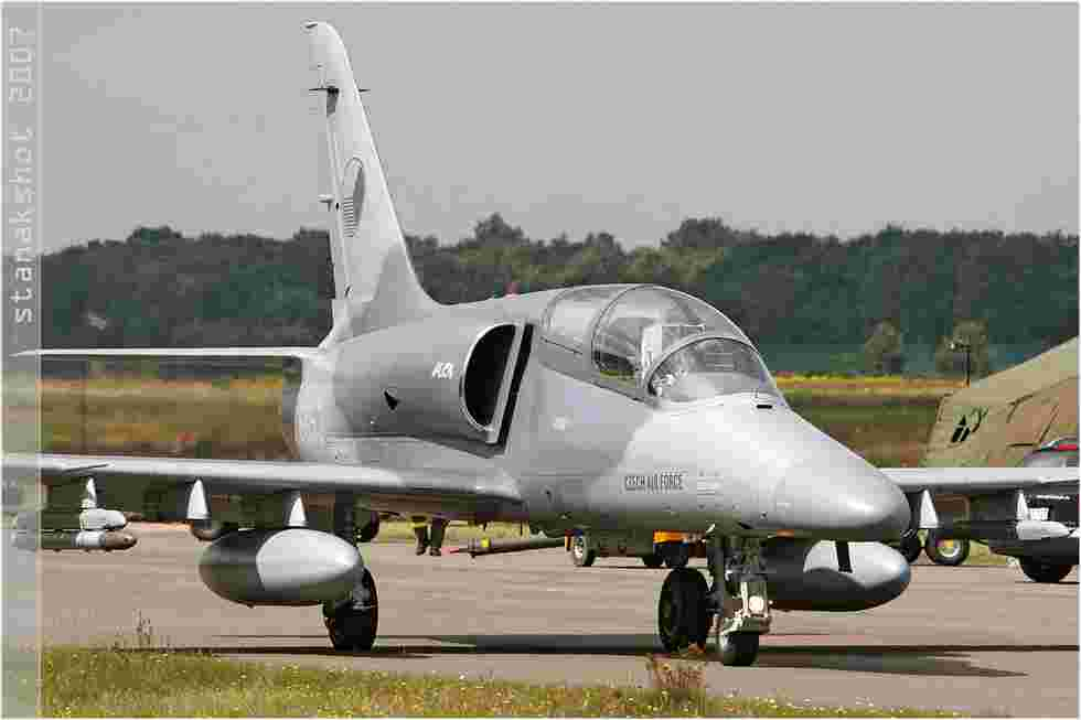 tofcomp#2867 Alca de la Force aérienne de la République tchèque au roulage à Kleine-Brogel (BEL) en 2007