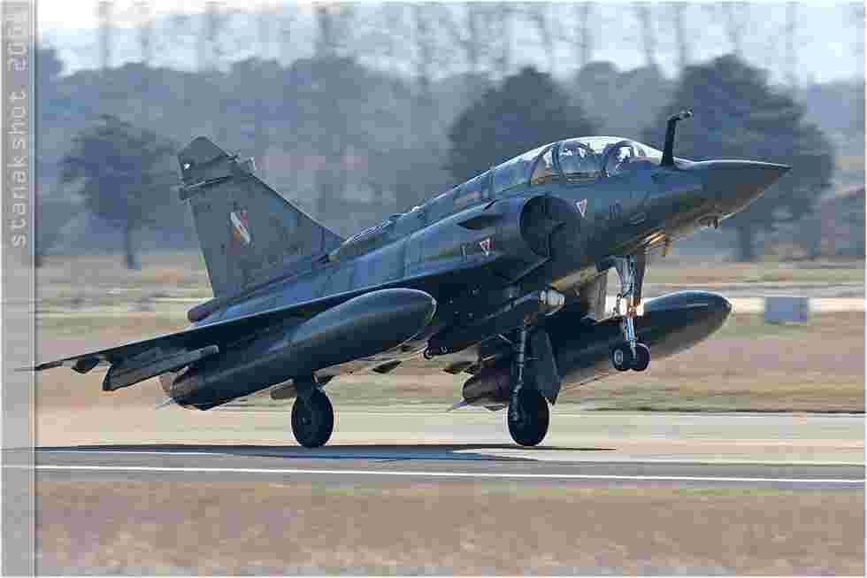 tofcomp#3279 Mirage 2000 de l'Armée de l'Air française au décollage à Orange (FRA) lors de CdM 2008