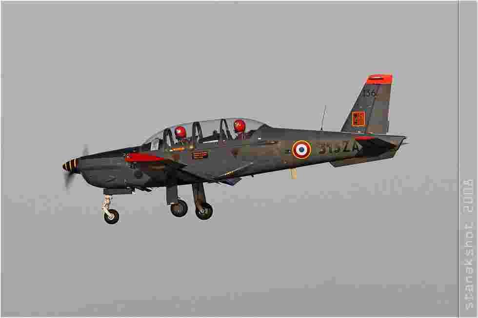 tofcomp#3330 Epsilon de l'Armée de l'Air française à l'atterrissage à Salon-de-Provence (FRA) en 2008