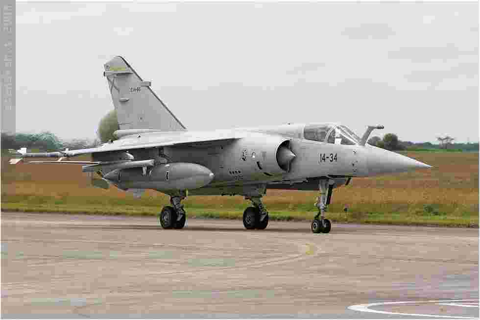 tofcomp#3682 Mirage F1 de la Force aérienne espagnole au roulage à Landivisiau (FRA) en 2008 OT