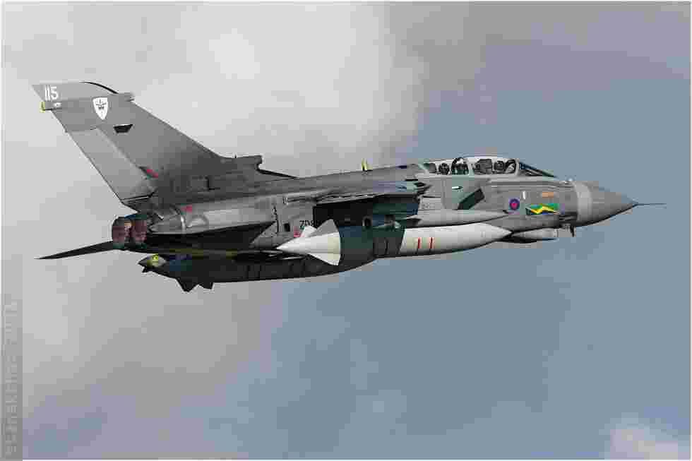 tofcomp#3995 Tornado de la Force aérienne royale britannique au décollage à Florennes (BEL) lors du TLP 2008-5