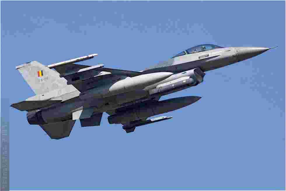 tofcomp#4159 F-16 de la Force aérienne belge au décollage à Florennes (BEL) lors du TLP 2009-2
