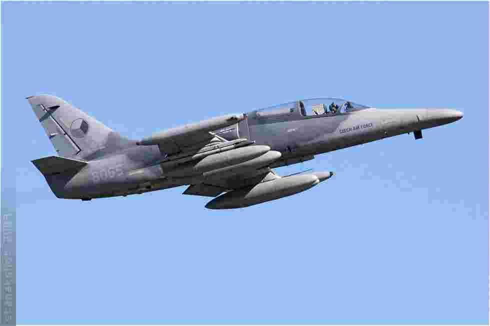 tofcomp#4256 Alca de la Force aérienne de la République tchèque au décollage à Florennes (BEL) lors du TLP 2009-3