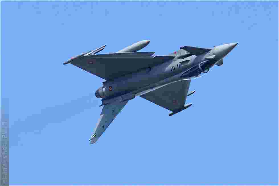 tofcomp#4268 Typhoon de la Force aérienne espagnole au décollage à Florennes (BEL) lors du TLP 2009-3