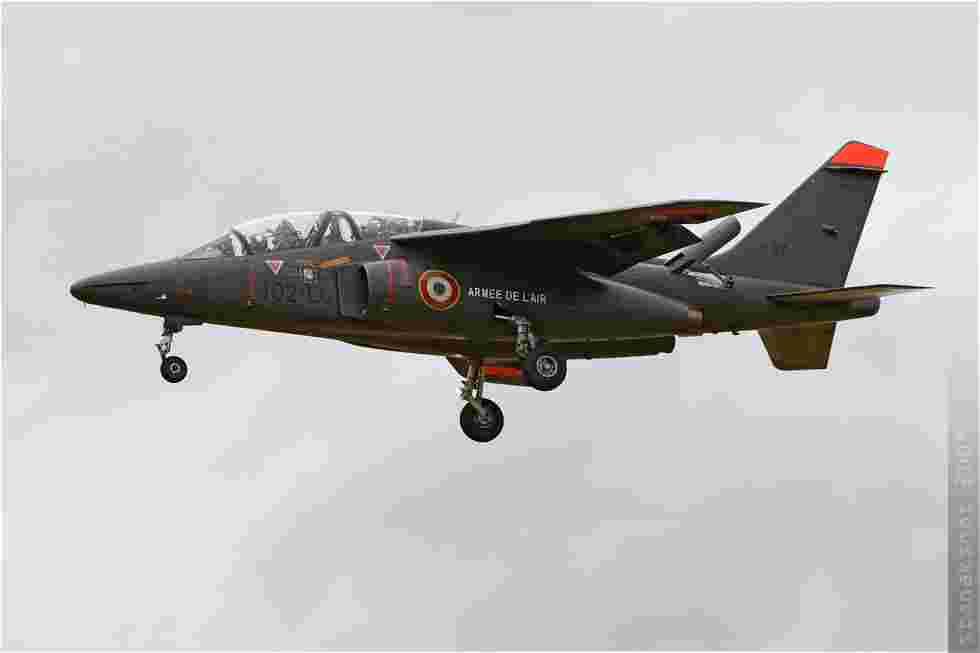 tofcomp#4449 Alphajet de l'Armée de l'Air française à l'atterrissage à Evreux (FRA) en 2009