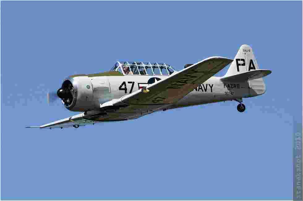 tofcomp#4788 T-6 enregistré en France en vol solo à La Ferté Alais (FRA) en 2010