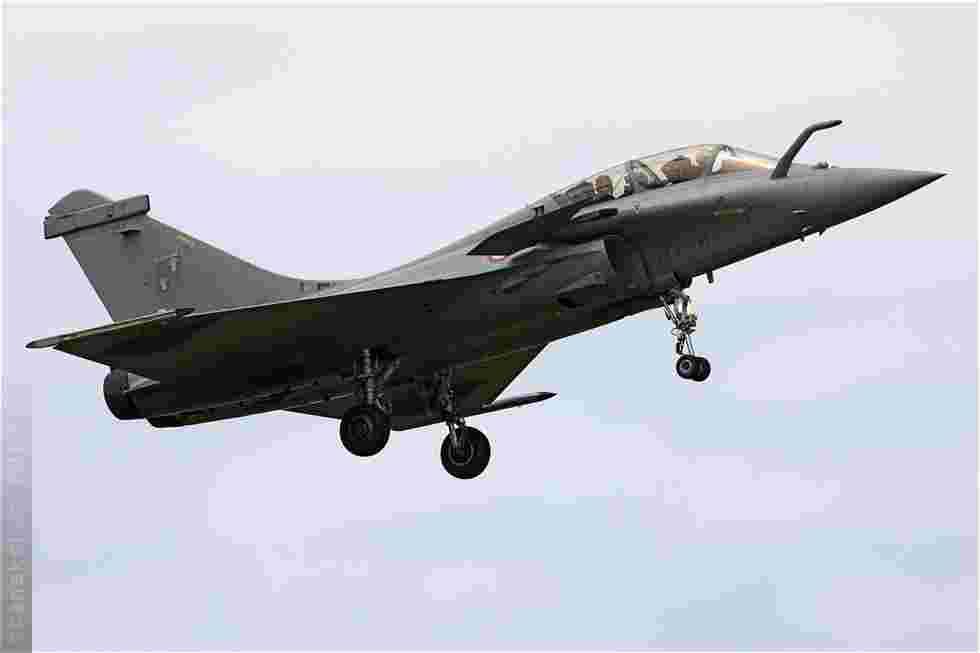 tofcomp#4957 Rafale de l'Armée de l'Air française à l'atterrissage à Saint-Dizier (FRA) en 2010
