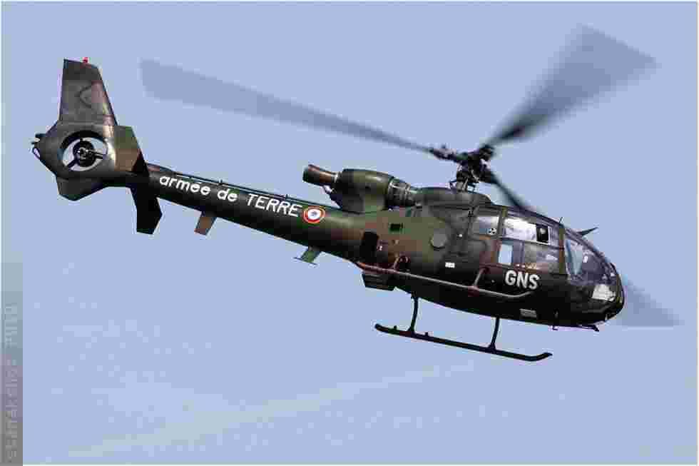 tofcomp#5027 Gazelle de l'Aviation légère de l'Armée de terre française en démonstration à Cambrai (FRA) lors du MNA 2010