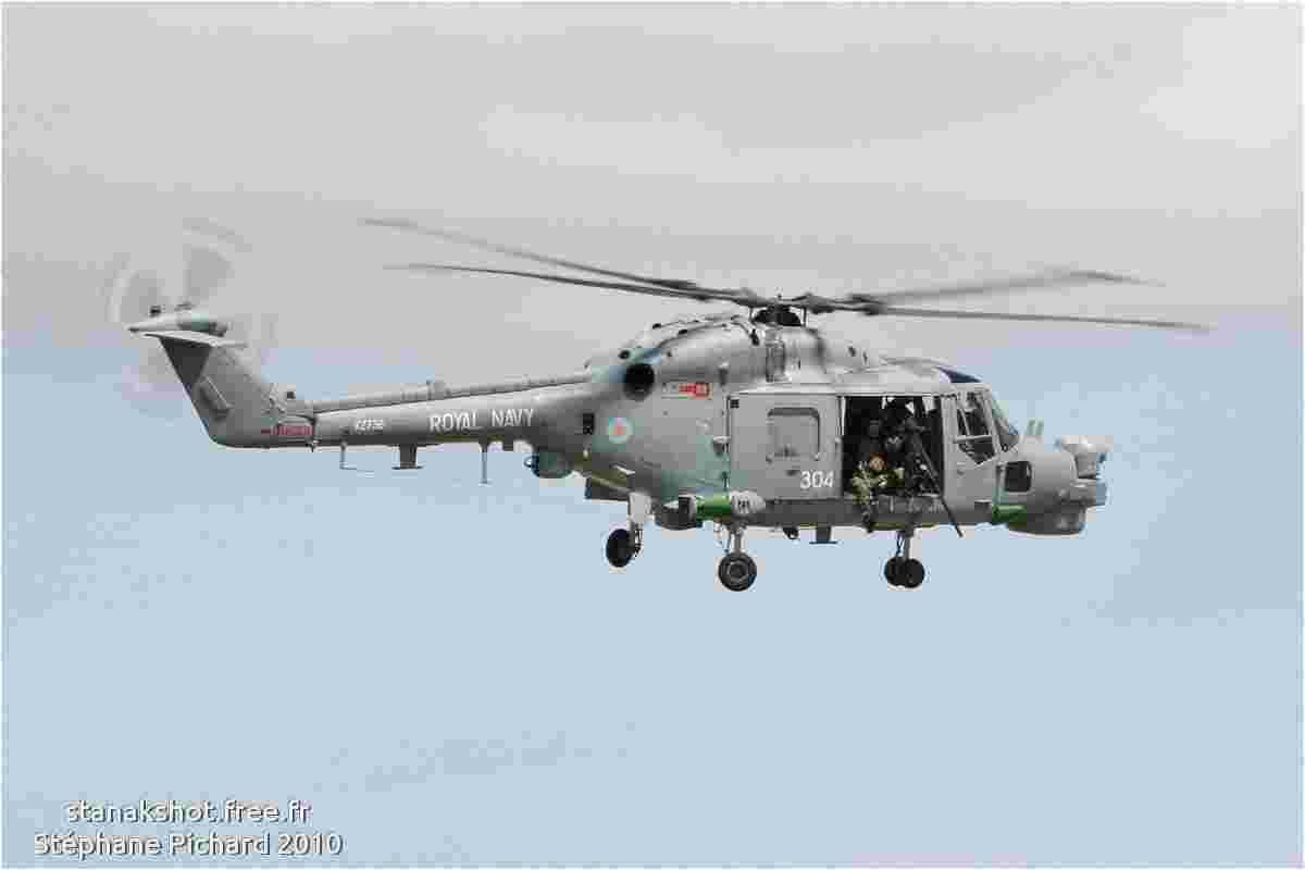 tofcomp#5138 Lynx de la Marine britannique en vol solo à Yeovilton (GBR) en 2010