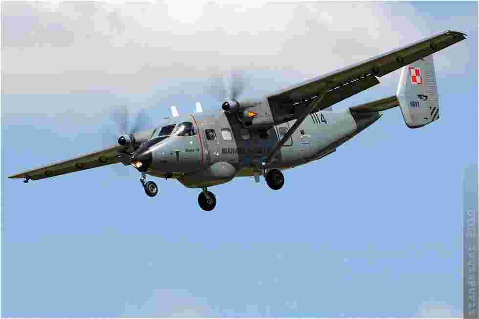 tofcomp#5153 An-28 de la Marine polonaise à l'atterrissage à Yeovilton (GBR) en 2010
