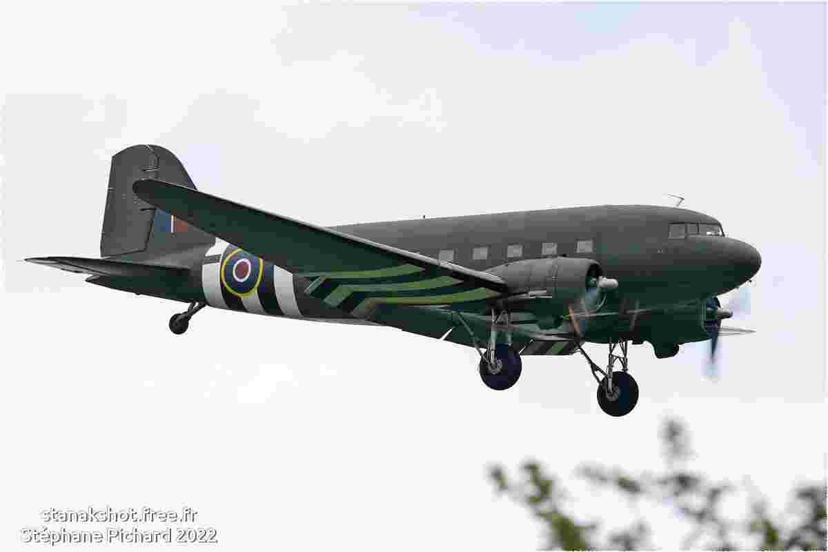 tofcomp#5283 King Air de la Force aérienne royale britannique à l'atterrissage à Fairford (GBR) lors du RIAT 2010