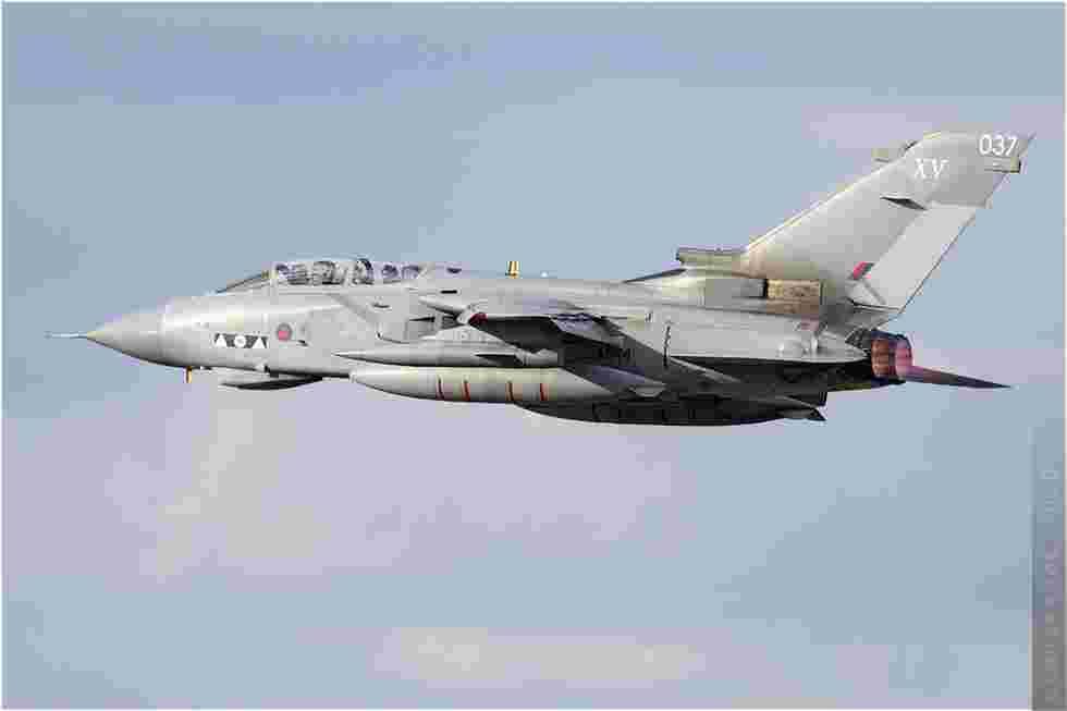 tofcomp#5389 Tornado de la Force aérienne royale britannique au décollage à Rennes (FRA) en 2010