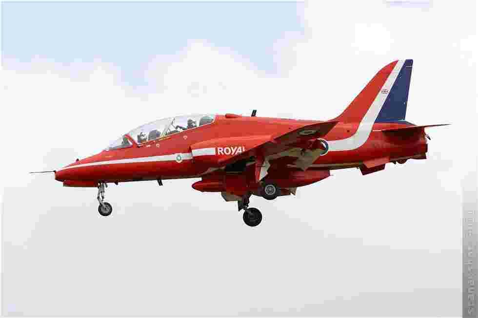 tofcomp#5842 Hawk de la Force aérienne royale britannique à l'atterrissage à Saint-Dizier (FRA) lors du MNA 2011