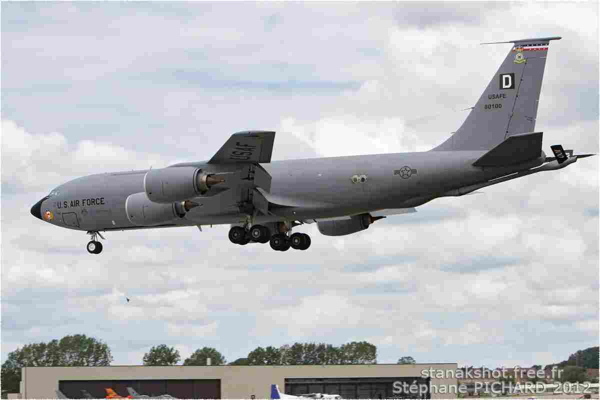 tofcomp#6165 C-135 de l'US Air Force à l'atterrissage à Fairford (GBR) lors du RIAT 2012