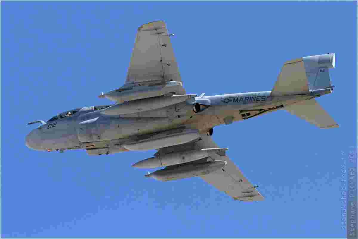 tofcomp#6399 A-6 du Corps des Marines américain au décollage à Nellis (NV, USA) lors du Red Flag 2013-3
