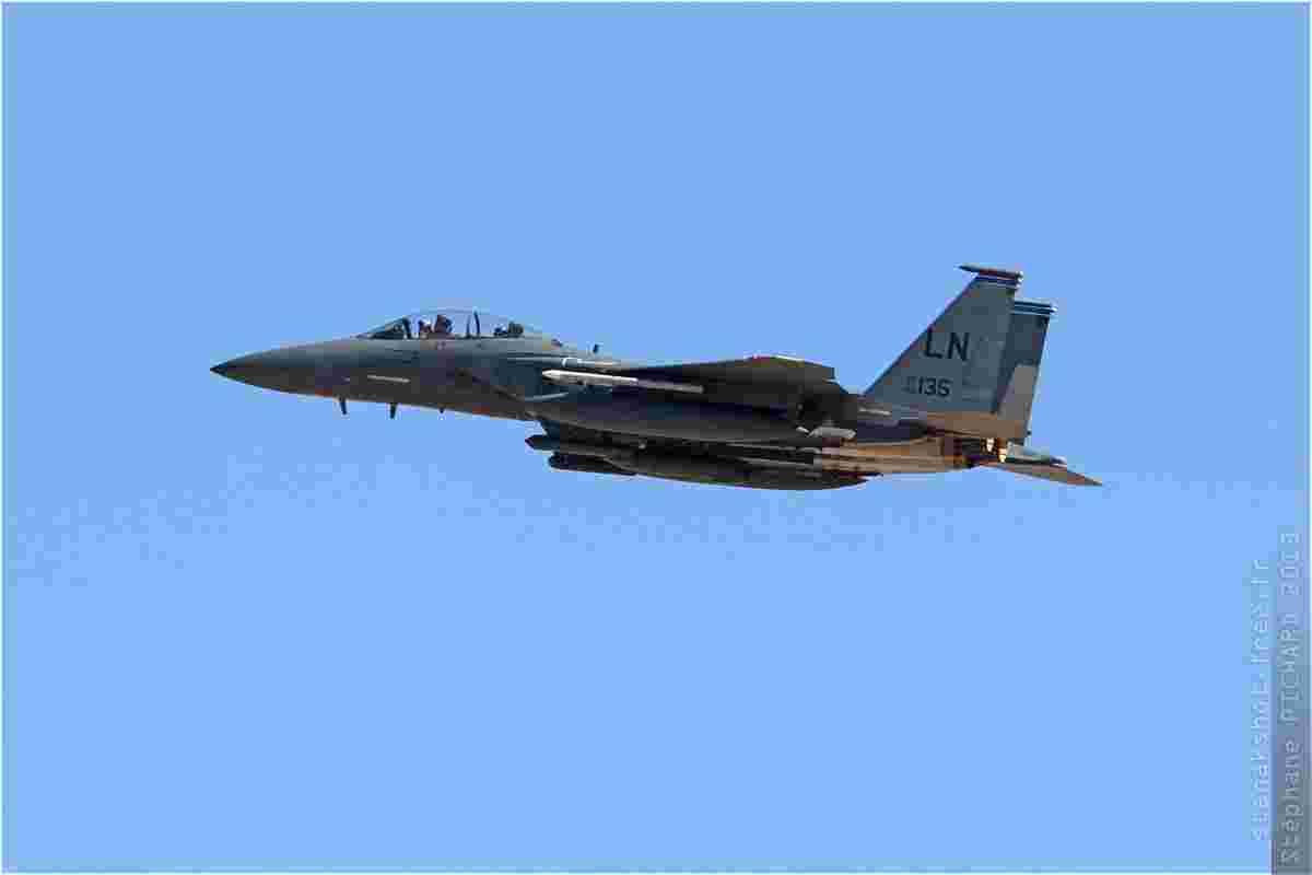 tofcomp#6415 F-15 de l'US Air Force au décollage à Nellis (NV, USA) lors du Red Flag 2013-3