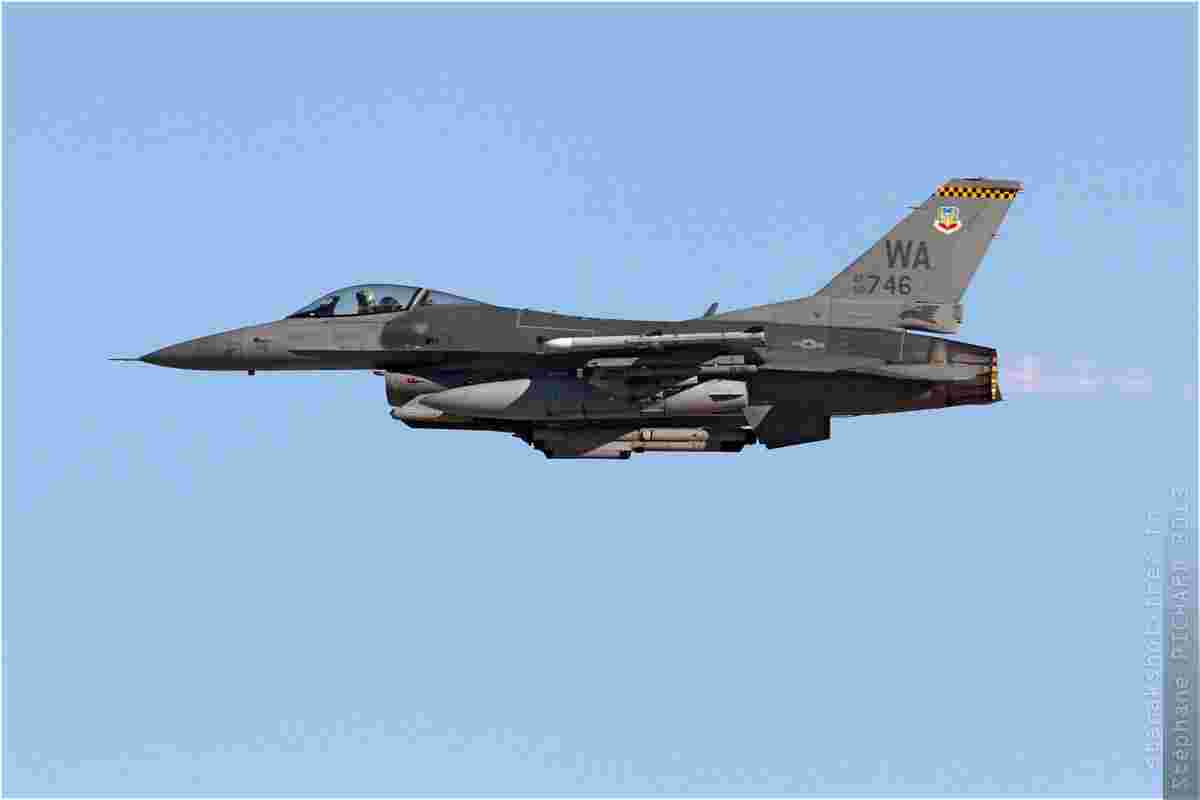 tofcomp#6536 F-16 de l'US Air Force au décollage à Nellis (NV, USA) lors du Red Flag 2013-3