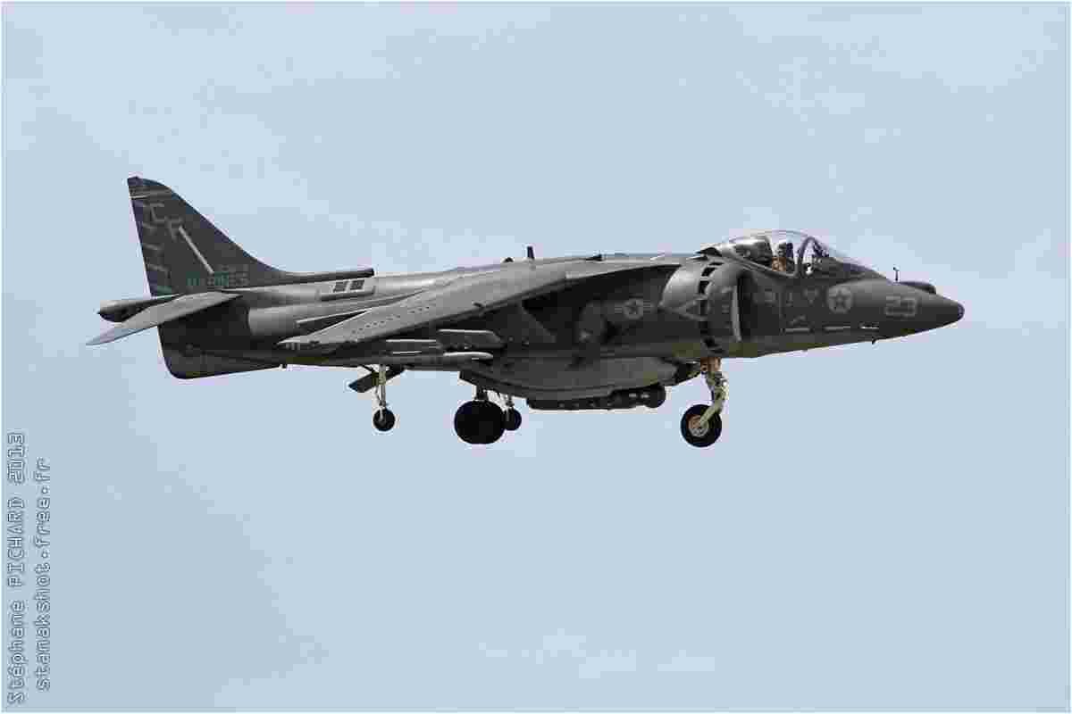 tofcomp#6647 Harrier du Corps des Marines américain à l'atterrissage à Yuma (AZ, USA) en 2013