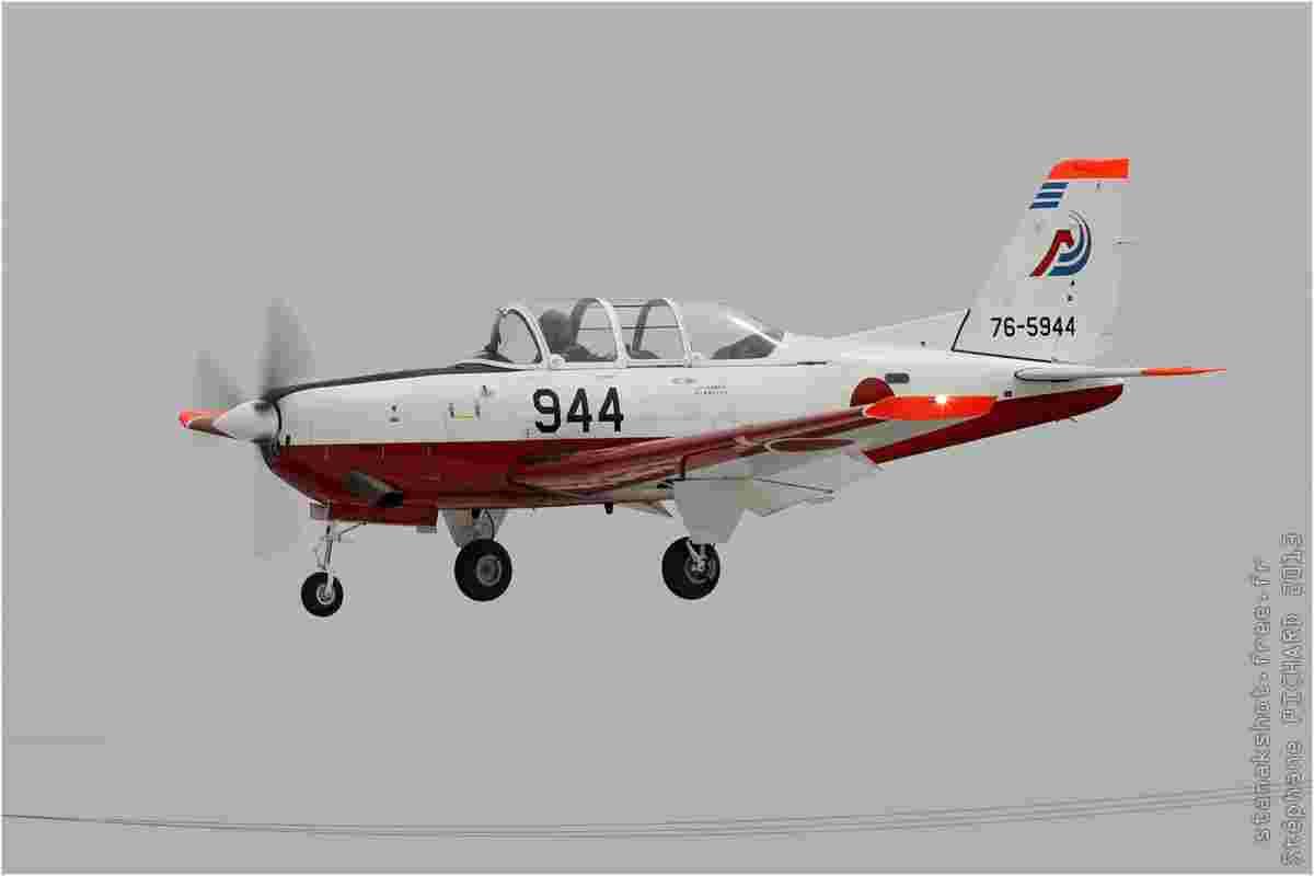 tofcomp#6843 T-7 de la Force aérienne d'autodéfense japonaise à l'atterrissage à Shizuhama (JPN) en 2013