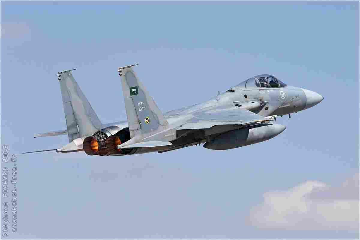 tofcomp#7077 F-15 de la Force aérienne royale saoudienne au décollage à Konya (TUR) lors du Anatolian Eagle 2013