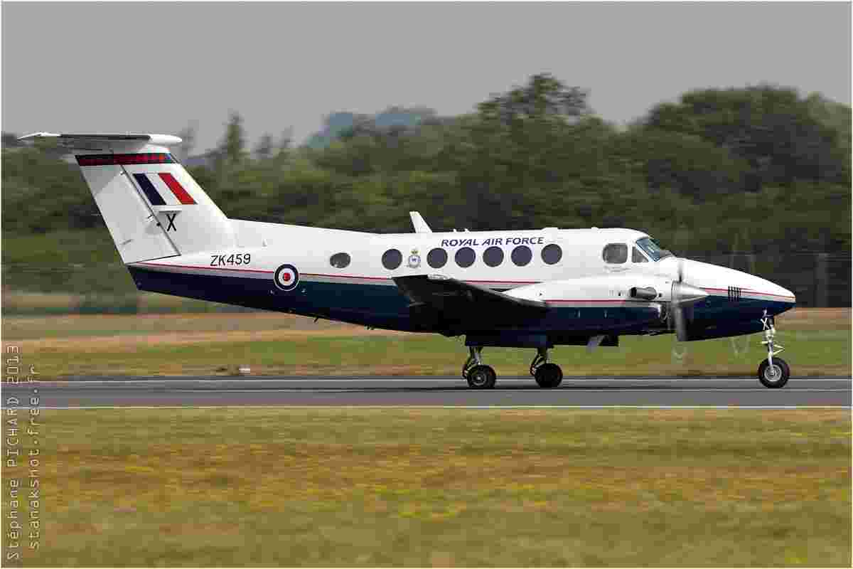 tofcomp#7153 King Air de la Force aérienne royale britannique au roulage à Fairford (GBR) lors du RIAT 2013