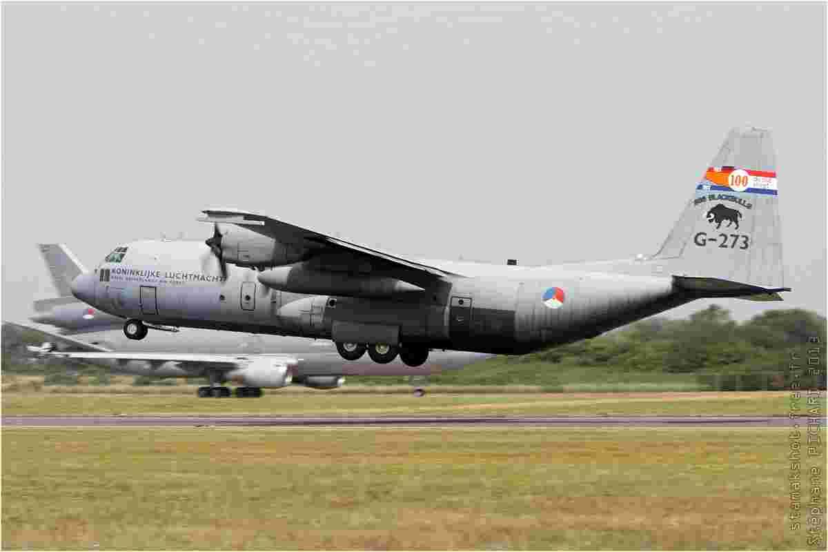 tofcomp#7219 C-130 des Forces aériennes royales néerlandaises au décollage à Fairford (GBR) lors du RIAT 2013