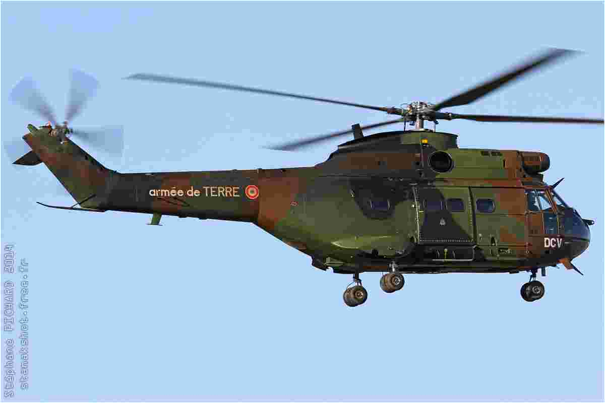 tofcomp#7364 Puma de l'Aviation légère de l'Armée de terre française à l'atterrissage au Luc (FRA) en 2014