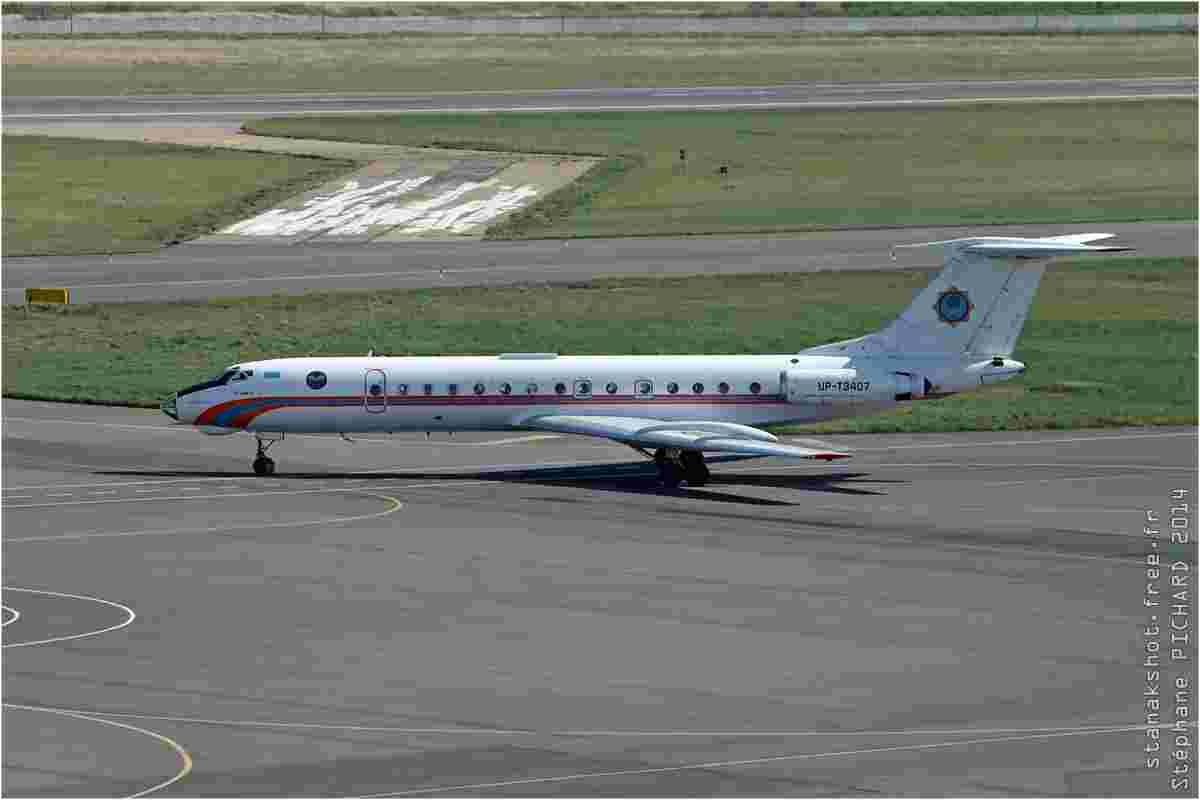 tofcomp#7670-Tu-134-Kazakhstan-KazAviaSpas