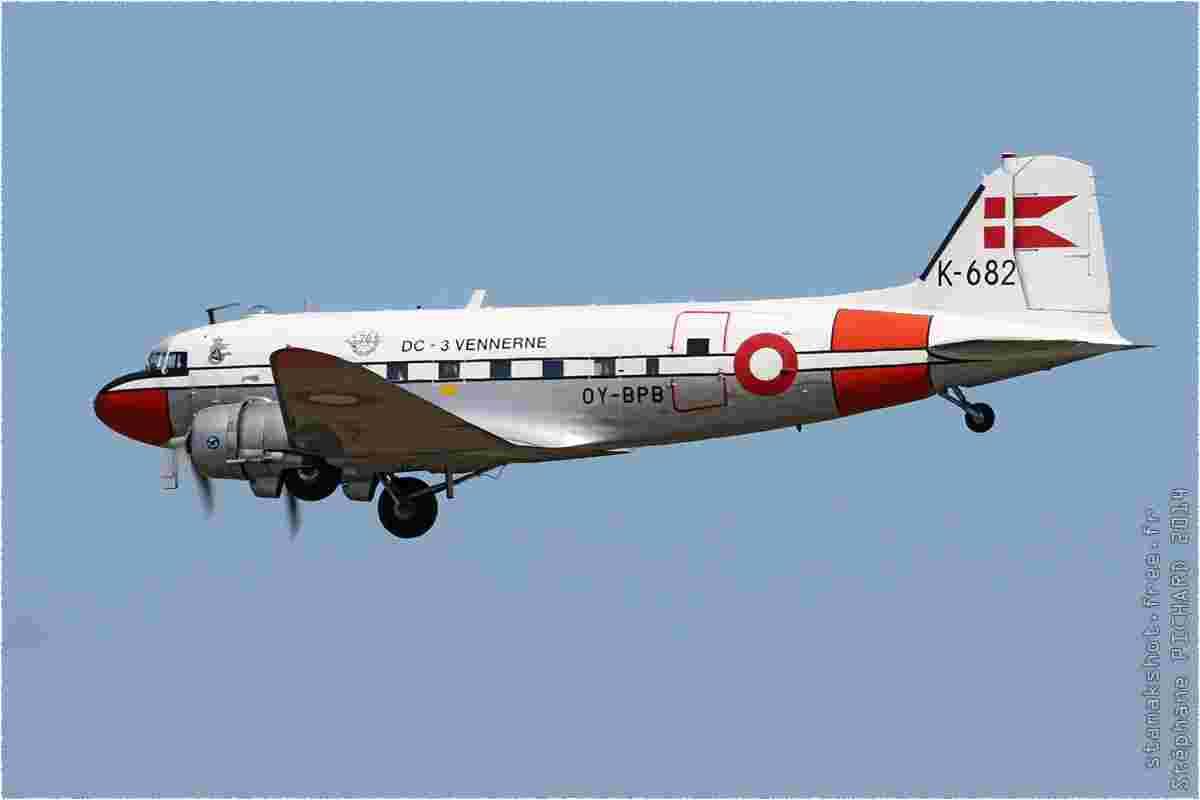 tofcomp#7767 DC-3 enregistré au Danemark en vol solo à Karup (DNK) en 2014