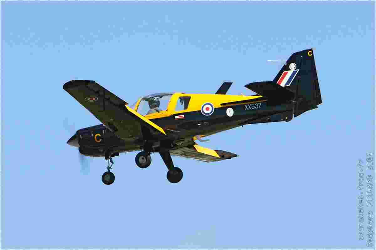 tofcomp#7824 Bulldog enregistré au Royaume-Uni à l'atterrissage à Fairford (GBR) lors du RIAT 2014