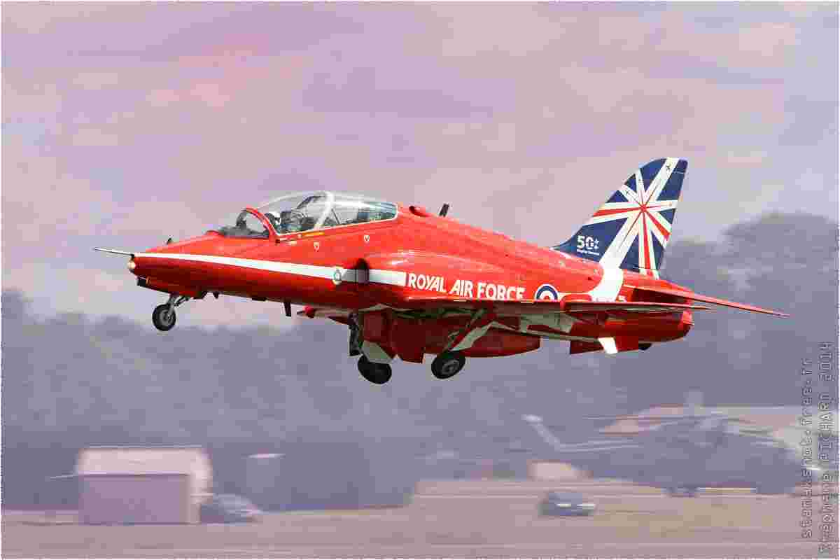 tofcomp#7904 Hawk de la Force aérienne royale britannique au décollage à Fairford (GBR) lors du RIAT 2014