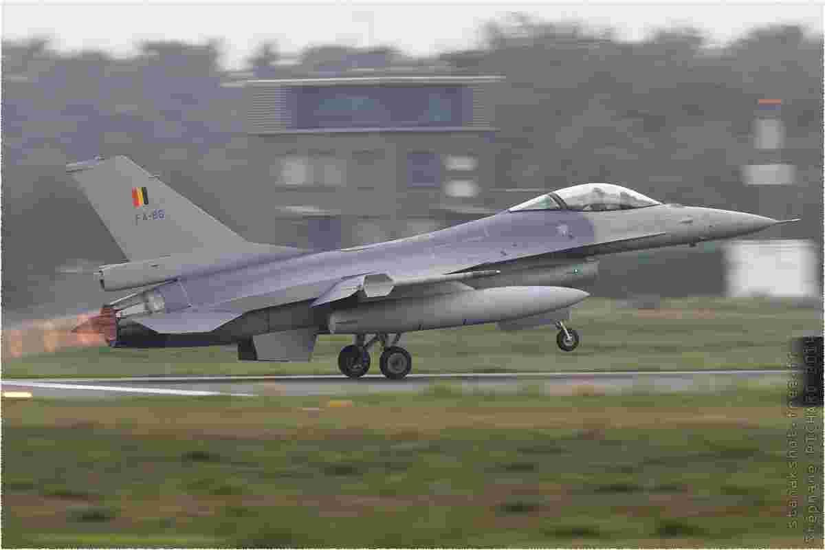 tofcomp#7948 F-16 de la Force aérienne belge au décollage à Kleine-Brogel (BEL) en 2014
