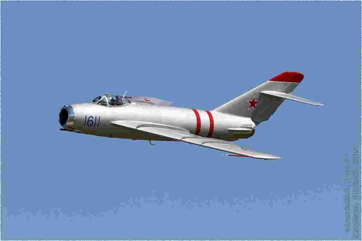 tofcomp#8112 MiG-17 enregistré aux USA en démonstration à Houston (TX, USA) en 2014