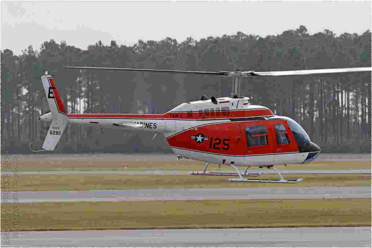 tofcomp#8269 Bell 206 du Corps des Marines américain au roulage à Whiting Field (FL, USA) en 2014