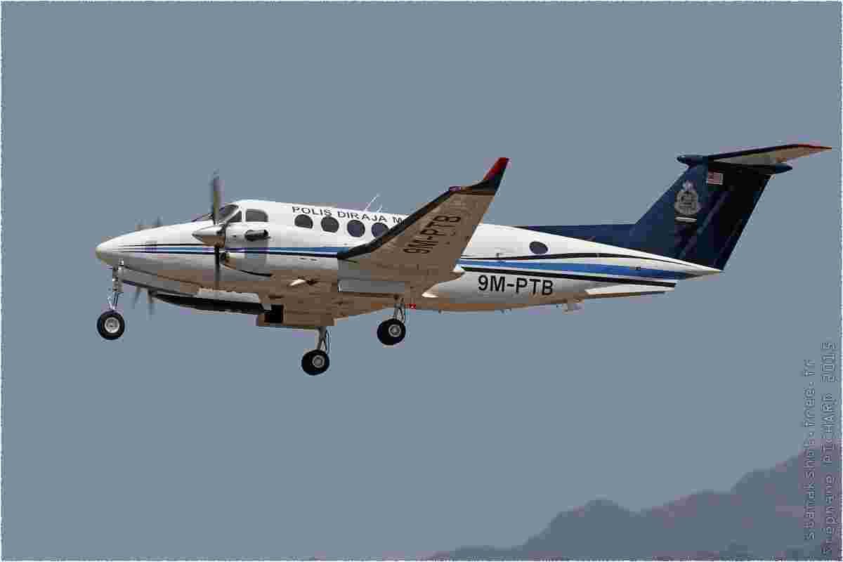 tofcomp#8398-King-Air-Malaisie-police