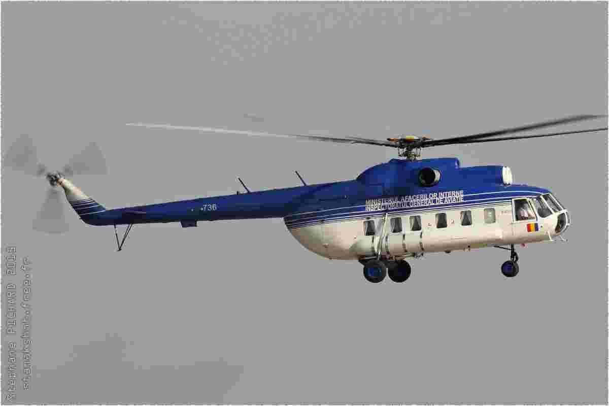 tofcomp#8879 Mi-8 du gouvernement roumain à l'atterrissage à București-Otopeni (ROU) en 2015