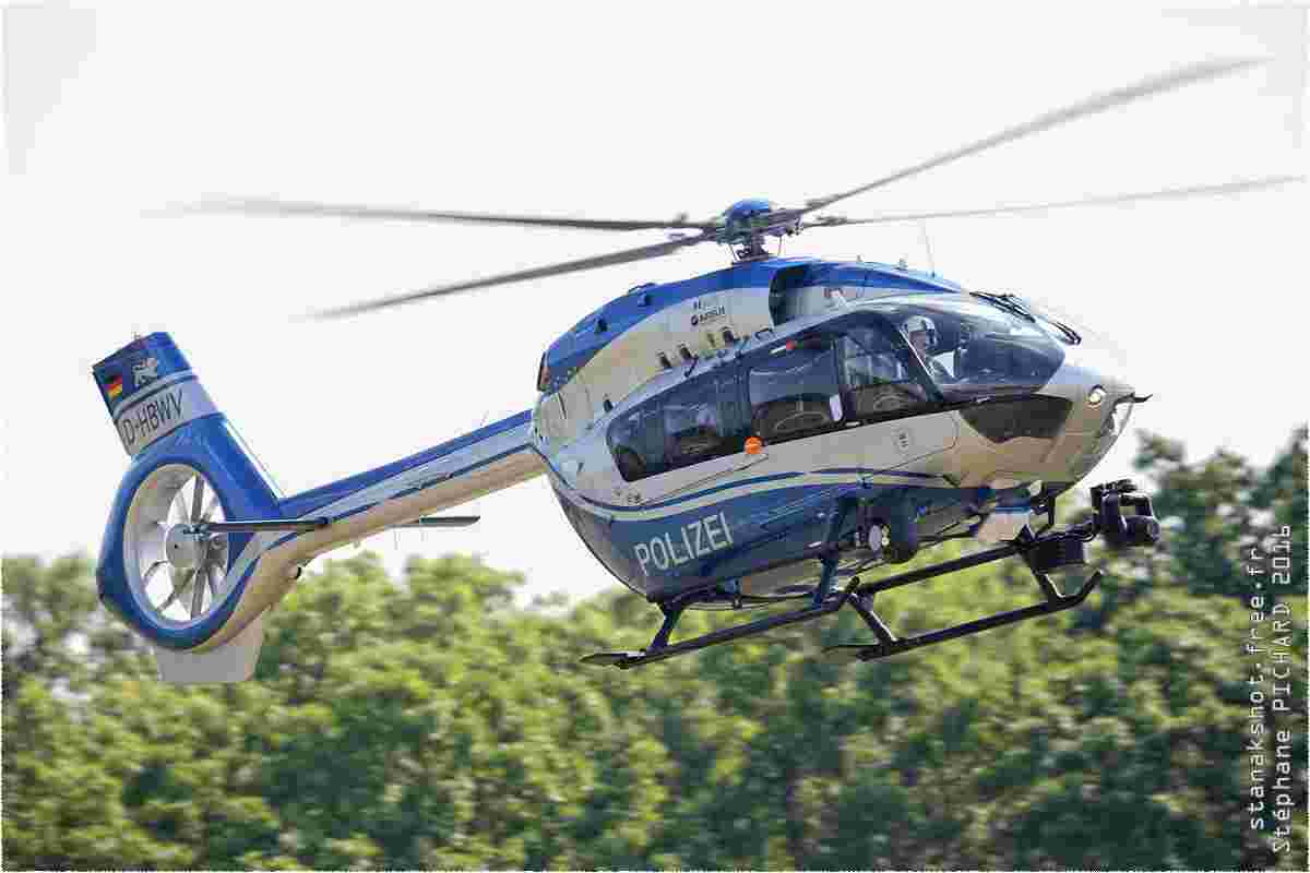 tofcomp#9576 EC145 de la Police allemande en vol solo à Hahnweide (DEU) en 2016