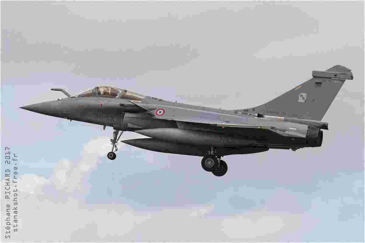 tofcomp#9969 Rafale de l'Armée de l'Air française à l'atterrissage à Landivisiau (FRA) lors du NTM 2017