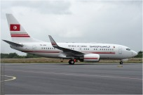 #605 B737 TS-IOO Tunisie - gouvernement