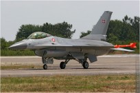 #820 F-16 E-075 Danemark - air force