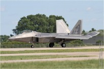 tn#1065 F-22 09-4185 USA - air force