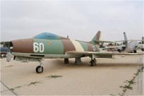 tn#1209-Mystere IV-60-Israel - air force
