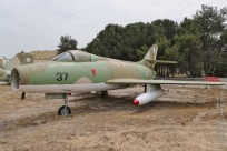 tn#1496-Mystere IV-37-Israel - air force