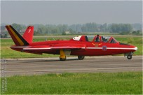 tn#1534-Fouga-MT40-Belgique-air-force