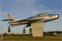 tn#10097-F-84-FU154-Belgique-air-force